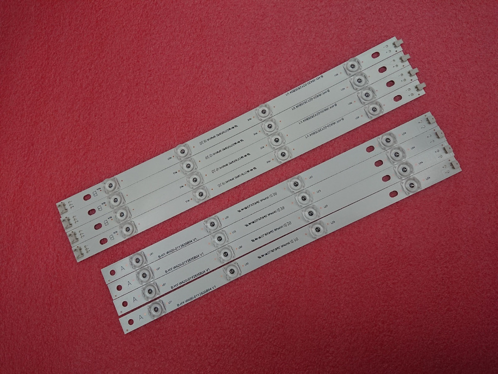 Image 5 - New 8pcs/set LED strip Replacement for LG LC420DUE 42LB5500 42LB5800 42LB560 INNOTEK DRT 3.0 42 inch A B 6916L 1710B 6916L 1709BLight Beads   -