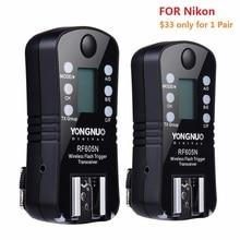 Yongnuo rf-605n rf-605 disparador de flash sem fio com lcd para nikon d7100 D7000 D5200 D5100 D3000 D90 D80 D70 D70s D40 D800 D800E