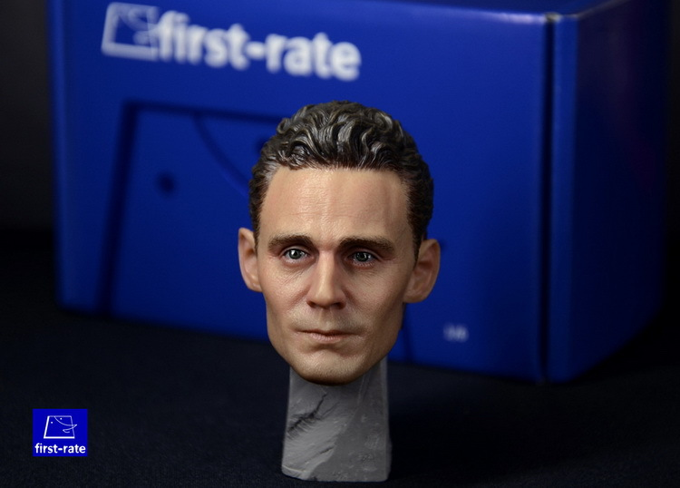 ФОТО First-rate1/6 loki Thor Tom Hiddleston  headsculpt for DIY12in doll Parts Male head shape ,Not include the body and clothes