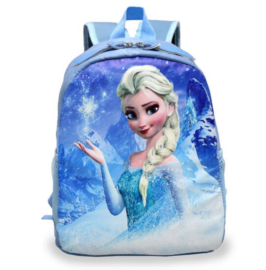 New Cartoon Princess Elsa School Bags For Girls Children Mini Schoolbag Kids Bookbags Kindergarten Mochila