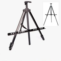 1PCS Portable Aluminum Easels Collapsible Adjustable Easel for Painting Drawing Artistic Folding Easel