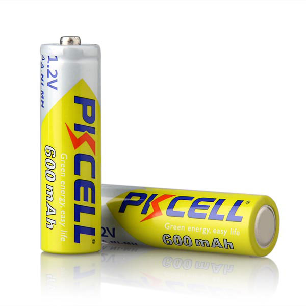 40 Pçs lote Bateria Recharegable 2A pkcell
