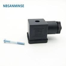 1 шт. разъем соленоидного клапана DIN43650 A/B/C соленоидная катушка соединитель для клапана соленоидная катушка соленоидный соединитель