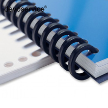 25 Hole Transparent Plastic Binding Ring Loose-leaf Single Not Scrape Hand Porous Loose Leaf Cut