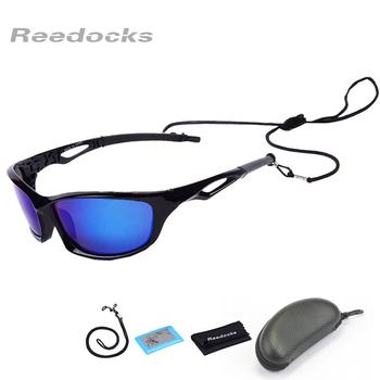 Reedocks nowe spolaryzowane okulary przeciwsłoneczne okulary wędkarskie mężczyźni kobiety gogle wędkarskie Camping piesze wycieczki okulary rowerowe sportowe okulary rowerowe tanie i dobre opinie C-P6001N Polarized UV400 protection Night Vision 6 3 cm x 4 4 cm