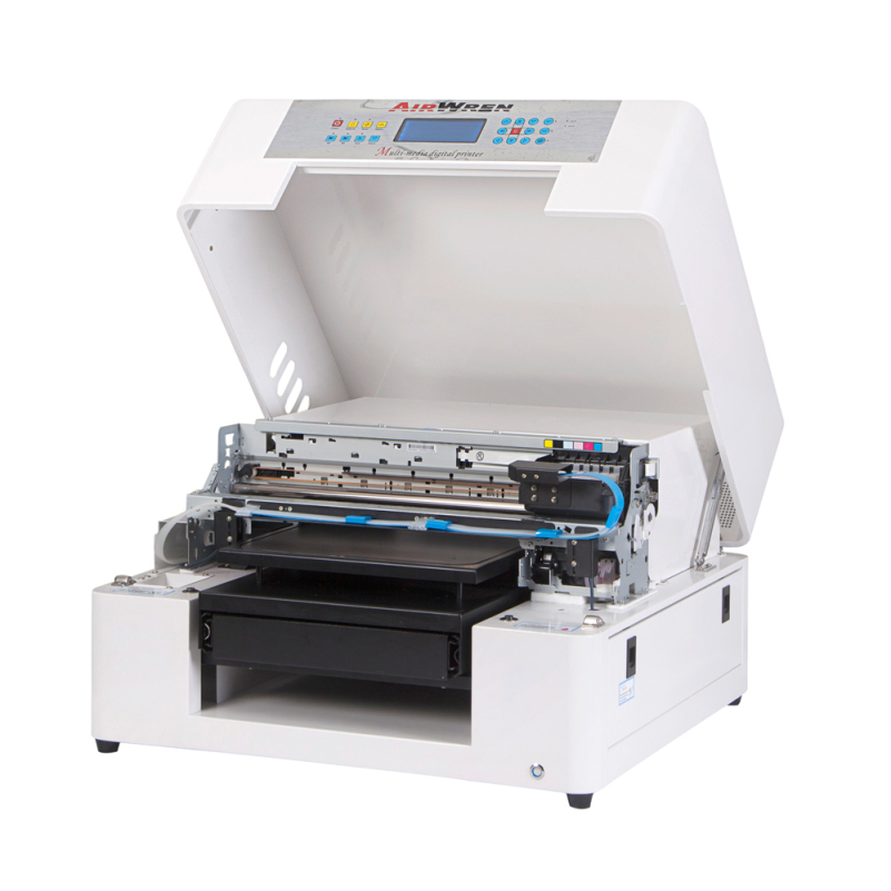 6 Color Flatbed DTG A3 T-Shirt Printer