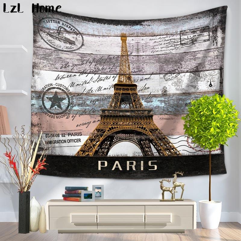 Home Decor Nation: LzL Home Eiffel Towel Decor Tapestry National Landmark