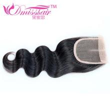 Brazilian Lace Closure Body Wave 1Pc/Lot Good Quality Human Hair Closure Rosa Hair Products Brazilian Virgin Hair Closure