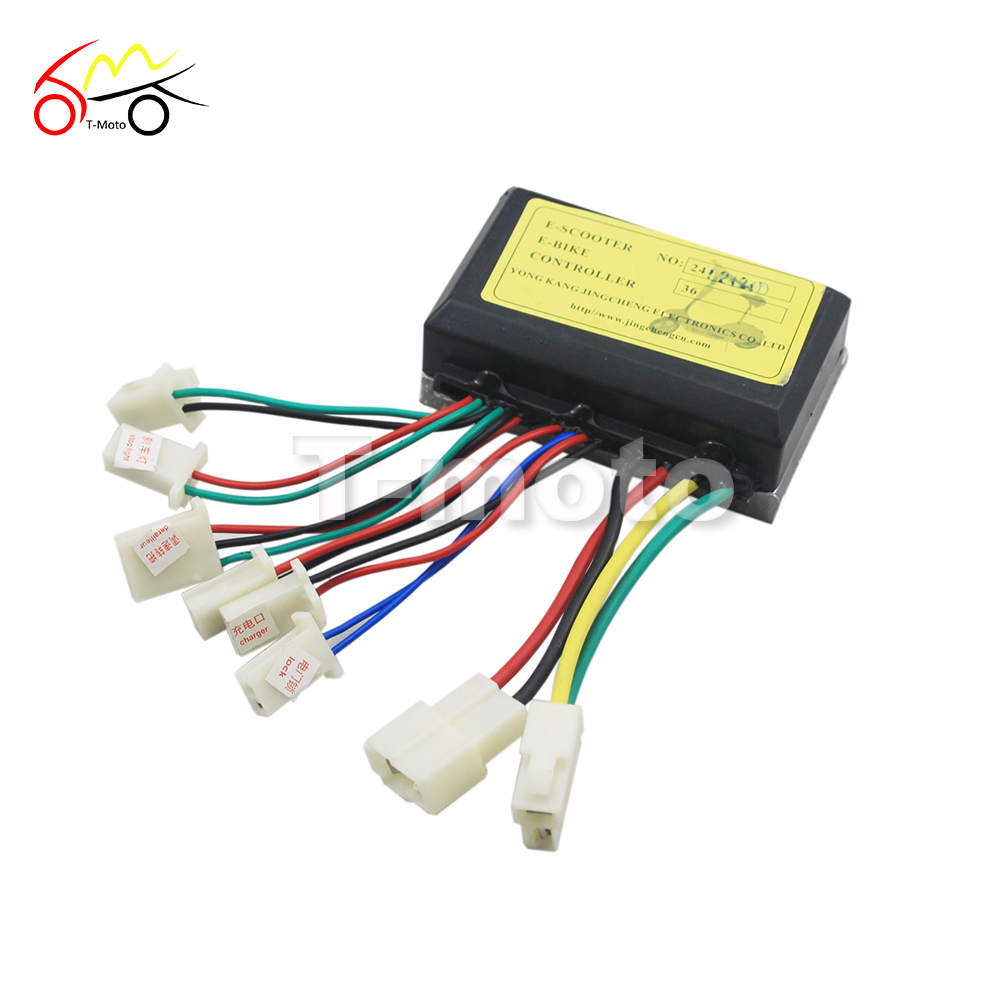 Motor brush controller for ev electric bicycle scooter e for Ev ac motor controller