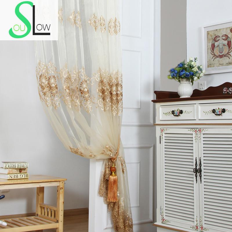 Slow soul beige white purple european style living bedroom - Beige and white bedroom curtains ...