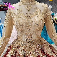 AIJINGYU Wedding Dress Transparent Lace Gowns For Sale Mexican China Customs Amazing Satin Ball Dresses Wedding Gown Styles