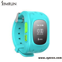 Children GPS Kids Smart Watch Wristwatch Q50 GSM GPRS GPS Locator Tracker Anti-Lost Smartwatch Child Guard for iOS Android