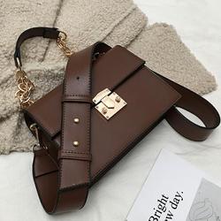 European Retro Fashion Lady Tote bag 2019 New Quality PU Leather Women's Designer Luxury Handbag Chain Shoulder Messenger bag