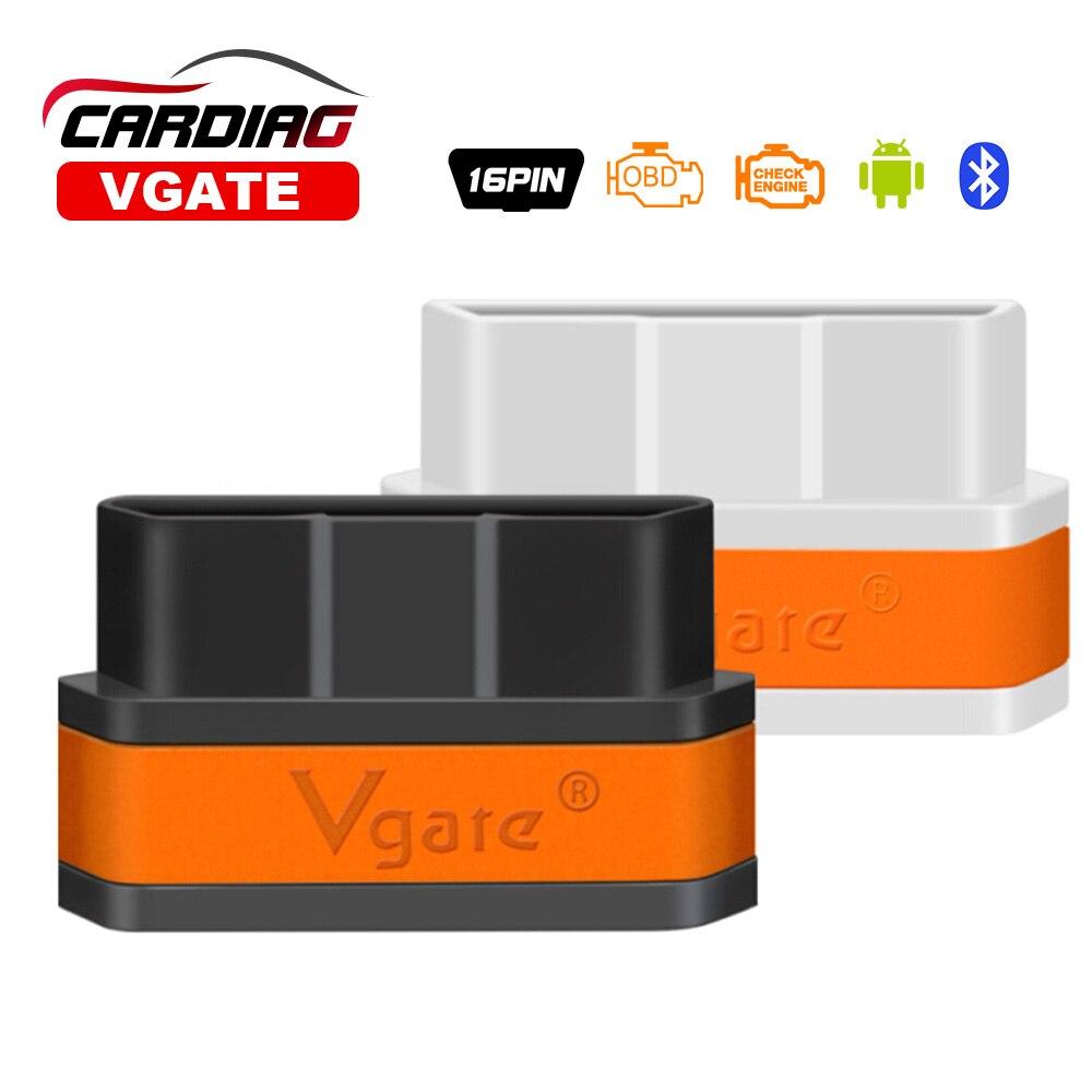 Prix pour 2017 Nouvelle Arrivée Vgate iCar2 Bluetooth OBD Scanner iCar 2 elm327 Bluetooth Interface De Diagnostic 8 couleurs en option