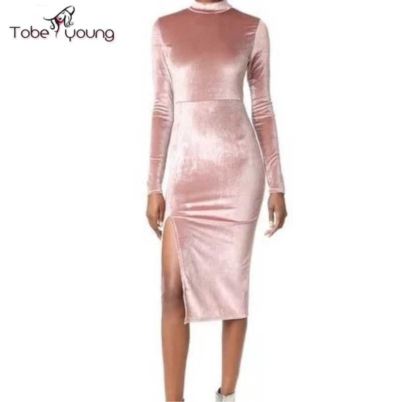 Sleeve bodycon length long dress knee online