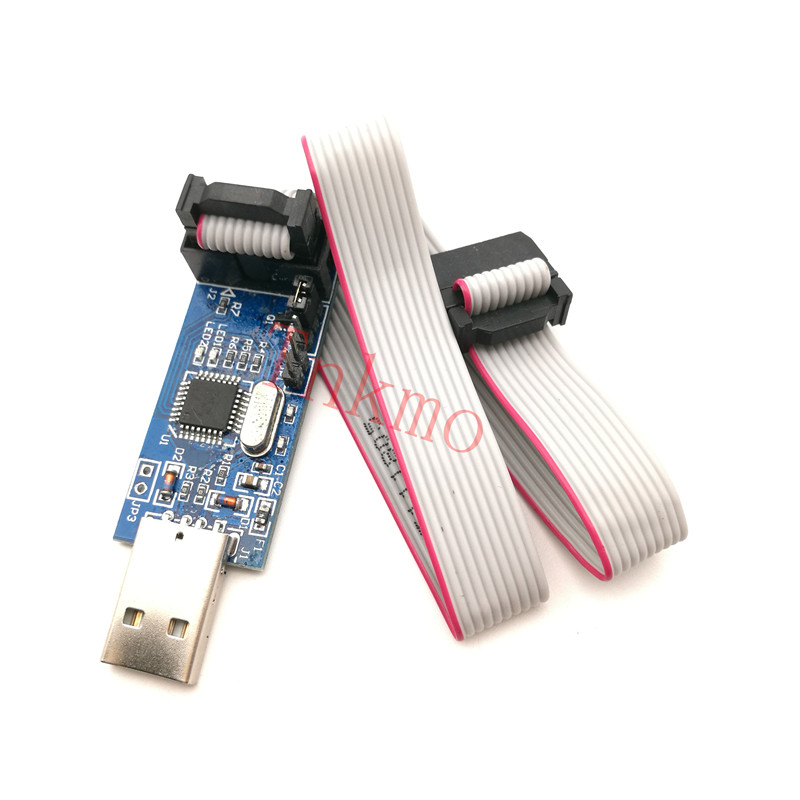 1PCS USBASP USBISP AVR Programmer USB ISP USB ASP ATMEGA8 ATMEGA128 Support Win7 64K asp net程序设计教程(附vcd光盘1张)