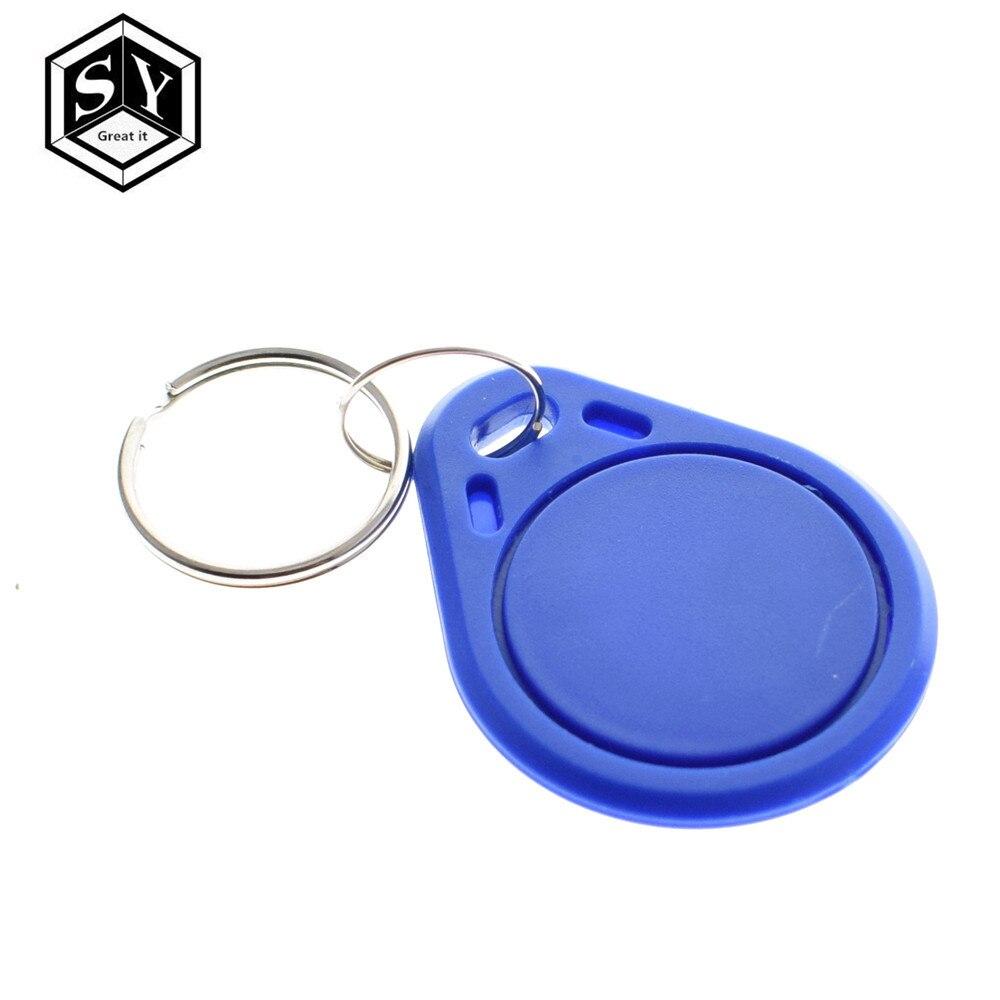 10PCS Grande É 13.56MHz RFID NFC TAG Keychain Chave Tags Os Keyfobs Token Para assistir canais de saco placa de ensaio Arduino regulador