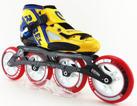 REBEC speed skating shoes inline skating shoes yellow skates speed skates