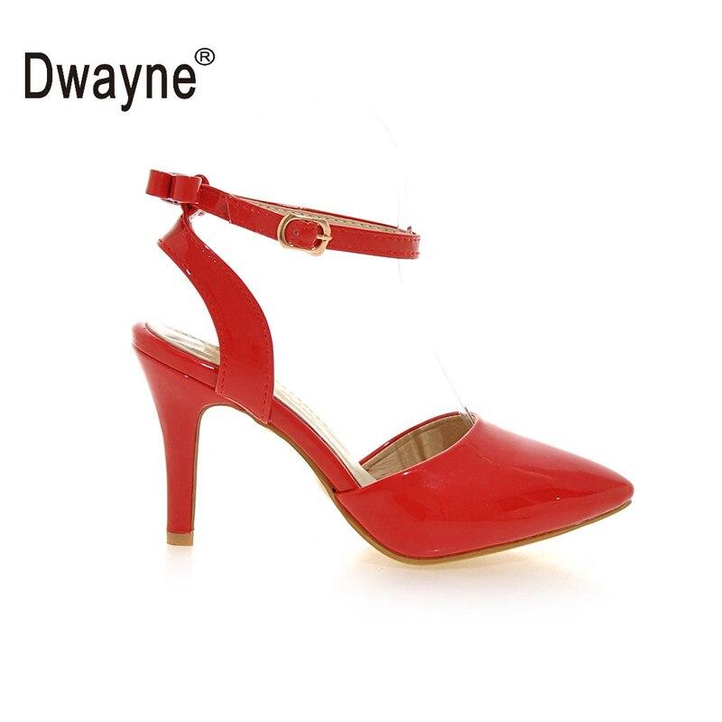 Frauen Schuhe Patent Leder Sommer 2018 AMF Sandalen Schuhe Frau Sandalen Frauen zapatos mujer Alias Mujer sandalia feminina