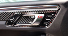 For Porsche Macan 2014 2015 2016 Left Hand Drive Carbon fiber font b Interior b font