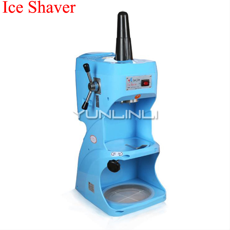 220V Commercial Ice Shaver Electric Ice Crusher Easy Operating Ice Breaker For Milk Tea Shop Coffee Shop Equipment LJIS-280 image