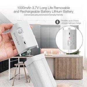 Image 3 - Upgrade BlitzWolf Intelligent Smart LED light Motion Sensor LED Cabinet Light Removable Lithium Battery 3000K Color Temperature