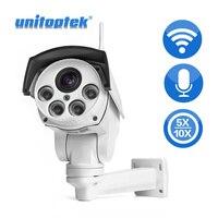 2MP 1080P Bullet Wifi PTZ IP Camera Audio 5X 10X Optical Zoom CCTV Surveillance Cam Wi Fi CCTV Wireless Camera Outdoor P2P View