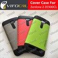 Caixa do telefone móvel tpu + pc armadura anti-knock shookproof 100% nova capa protetora para asus zenfone 2 ze500cl 5.0 polegadas