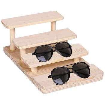 новые солнцезащитные очки деревянные демонстрационные стенды