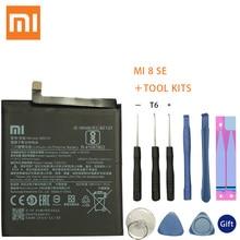 XaioMi Original Replacement Battery BM3D For Xiaomi 8 SE MI8 SE M8 SE 100% New Authentic Phone Battery 3120mAh Tools brand new original authentic sgs m8