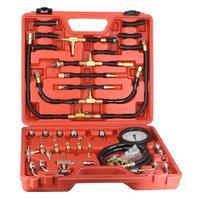 T443 автомобиля тестер топливных форсунок Давление датчик Системы комплект для ремонта авто ТНВД регулятор вакуум Diagnostics Tools