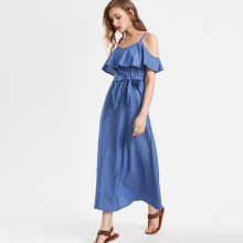 Womens Fashion dress boho dress maxi dress