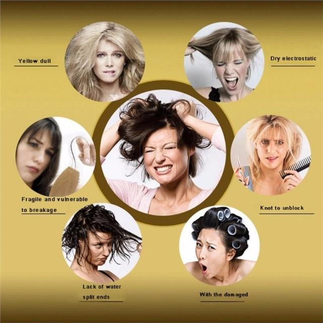 2pcs Moisturizing Dry Damaged Maintenance Keratin Repair Treatment Hair Mask Hair Care Mask Leave hair Soft and Lustrous TSLM2 5
