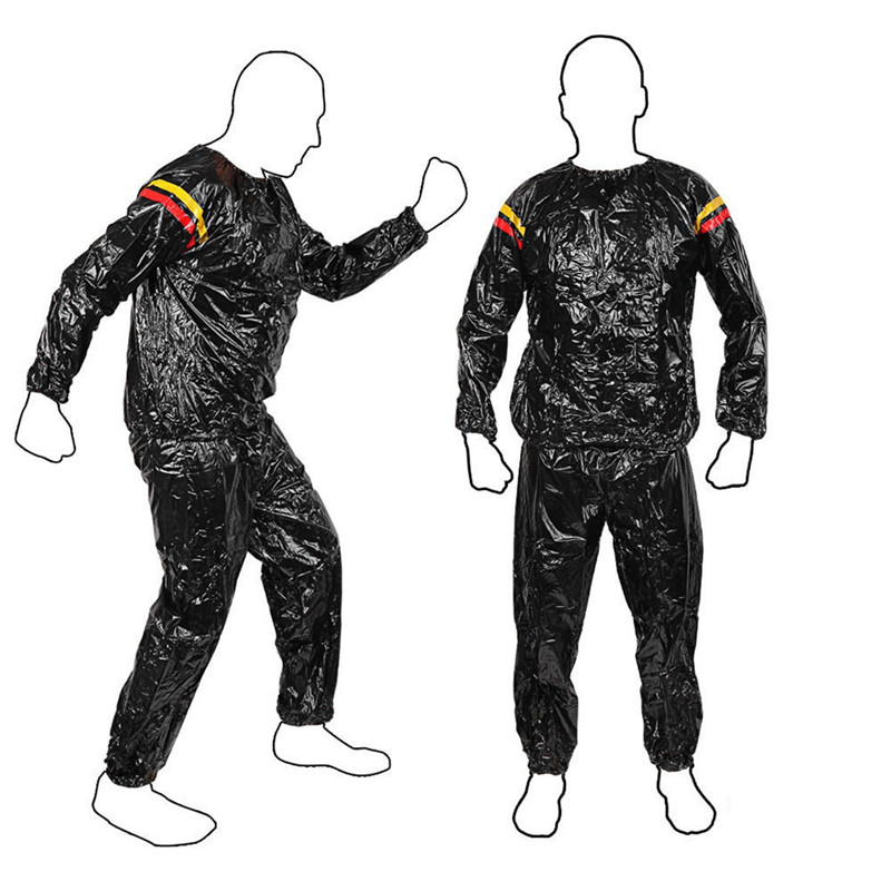 Newest Fitness Loss Weight Sweat Suit Sauna Workout Suit Exercise Gym Training Slimming Sauna Clothes L XL XXL 3XL