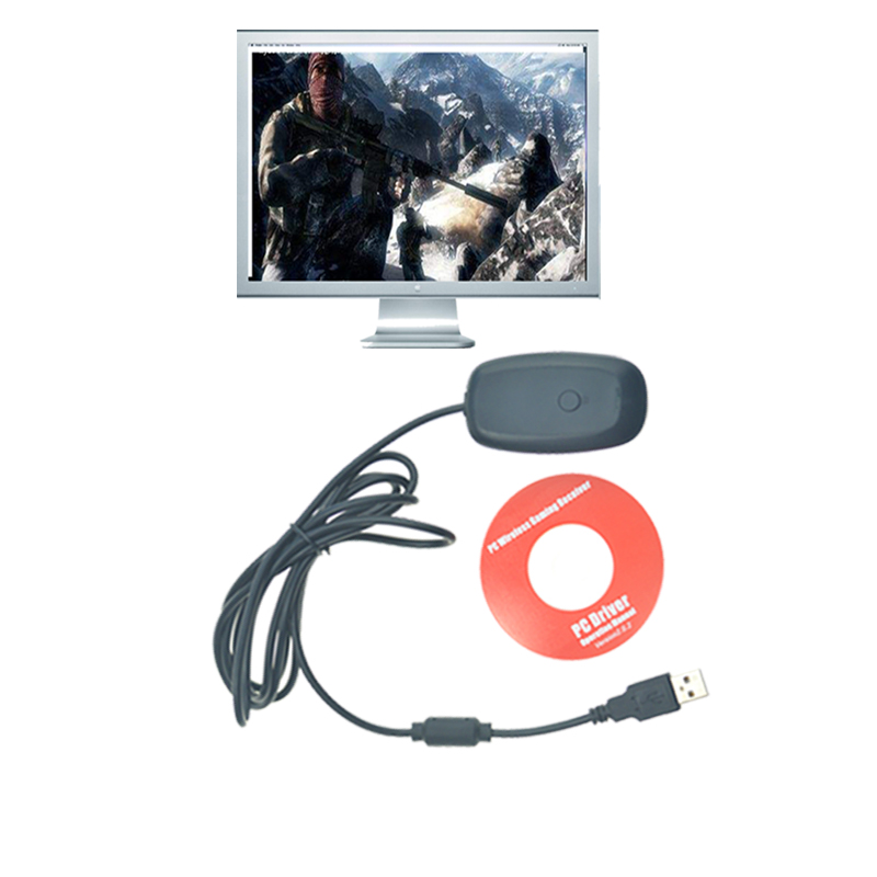 USB receiver For xbox 360 wireless controller pc For Microsoft Xbox 360 gamepad adapter accessories Windows 7/8 цена и фото