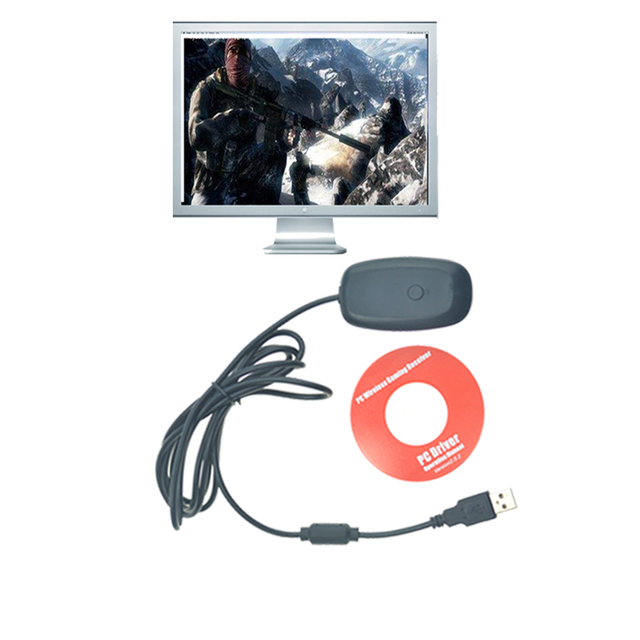 USB receiver For xbox 360 wireless controller pc For Microsoft Xbox ...