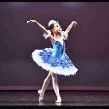 Özelleştirilmiş en çok satan Anna Shi klasik Spandex sahne Tutu/kız mavi kuş bale Tutu elbiseler, bale elbise tasarım dans Tutu