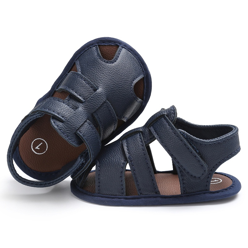 Infant-Summer-Baby-Boys-Shoes-Newborn-First-Walkers-PU-Leather-Soft-Soled-Beach-Crib-Bebe-Shoes-2