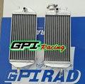 aluminum radiators for Gas Gas MX/SM/EC 200/250/300 2007 2008 2009 2010 11 12 13  2014