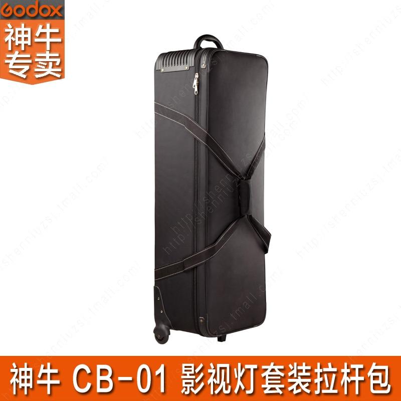 Сумка для переноски (Godox CB01) студия вспышки и свет Подставки мешок, несущих комплект освещения водонепроницаемый мешок cd50