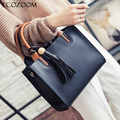 New Autumn Spring Women Soft PU Leather Handbag Shoulder Bags Casual Tote Ladies Fashion Hand Bags Girls Bolso Neverfull