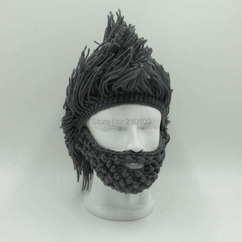 Mr. kooky 70 unids/lote loco peluca barba sombreros calientes hechos ...