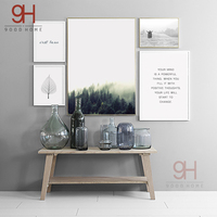 Nordic Landscape Canvas Art Print Painting Poster Wall Pictures For Home Decoration Wall Decor NOR13