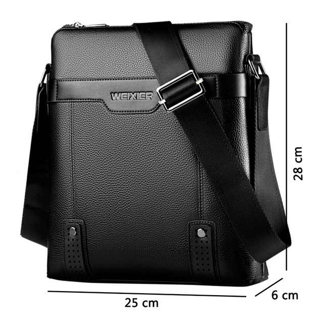 Casual Men Messenger Bags Crossbody Bags Men's Shoulder Bag Hot Selling High Quality pu business Briefcase 4