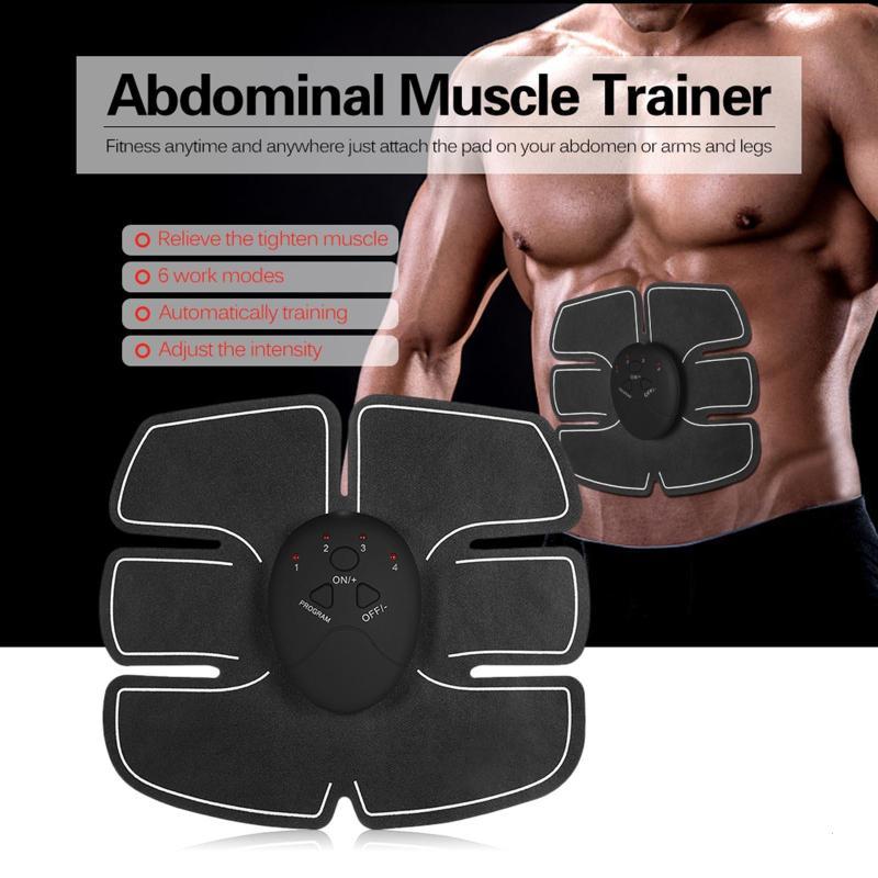 Muscle Trimmer Slim Stimulator Abdominal Estimulador Muscular Belt Training Exerciser Body Shaper Machine L3