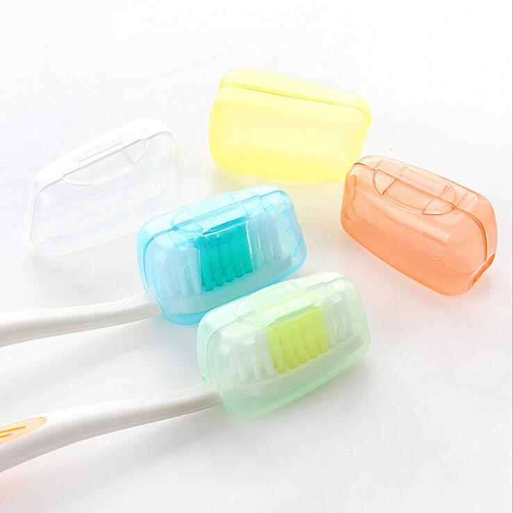 5pc/bag New Travel Portable Toothbrush Protect Cover Case Cap Hike Protector Cleaner Packing Organizer Travel Accessories