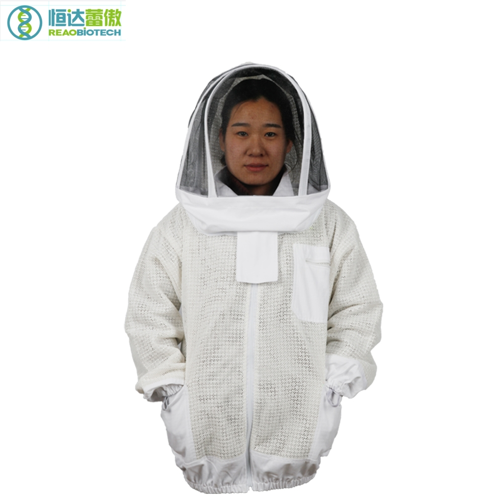 Beekeeper s Protective Suit Beekeeping Jacket Apiculture Three Bee Coat Costume for Beekeeper HDBC 002