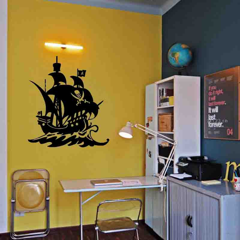 Luxury Pirate Ship Wall Decor Ornament - All About Wallart ...