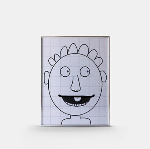Magia Final Quadro Abdômen Frame (Tamanho Grande, 45*35 cm) Truques de Magia Fase Partido Gimmick Props ilusão Mentalismo Comédia