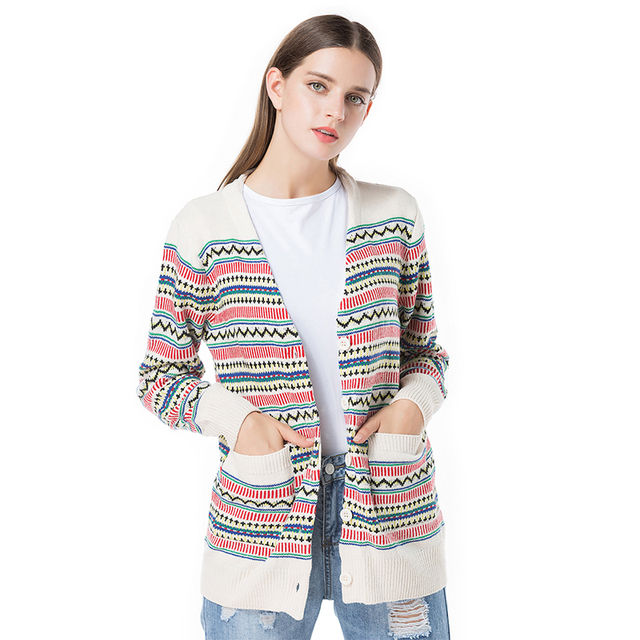 Aliexpress.com : Buy Striped Long Cardigan Female 2017 Spring ...